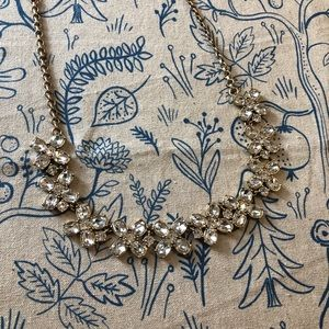 J.Crew Crystal Cloves Necklace